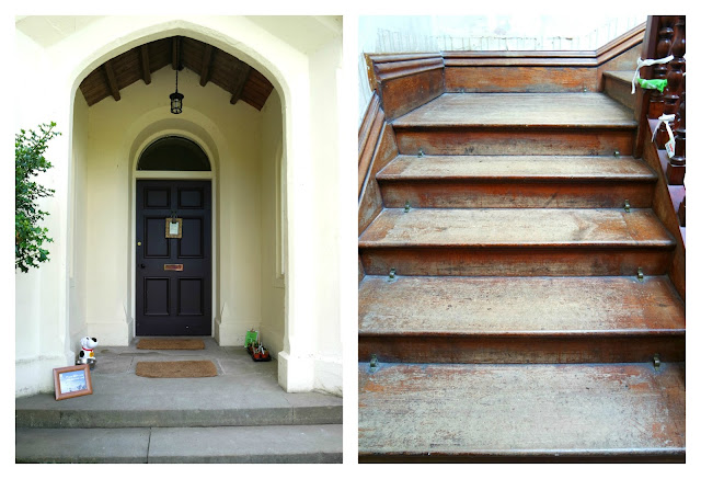 Allan Bank doorway and stairs