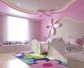 ديكورات جبس بورد غرف نوم اطفال