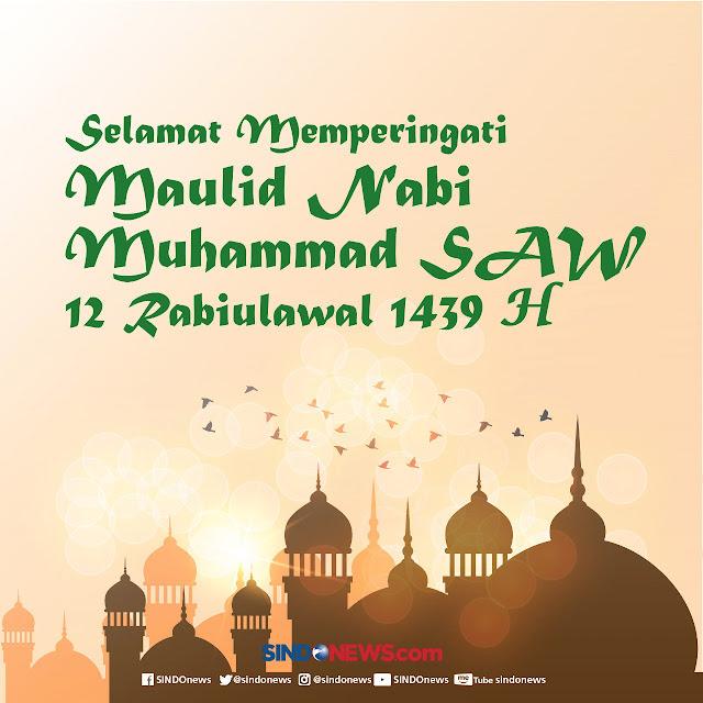 Kata Ucapan Selamat Memperingati Maulid Nabi Muhammad SAW Dari Netizen