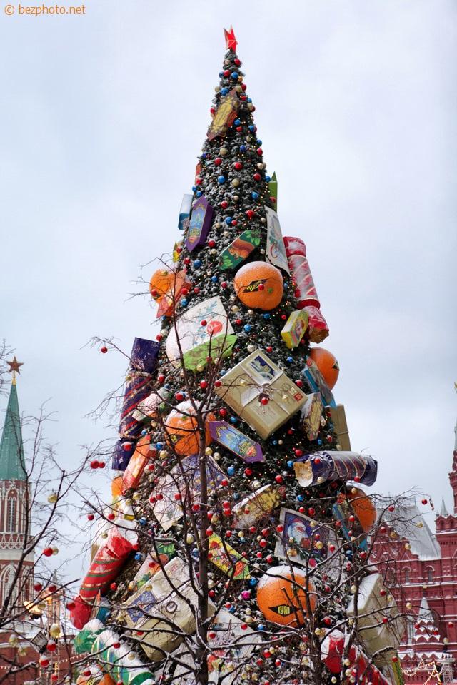 новогодняя елка на красной площади 2016