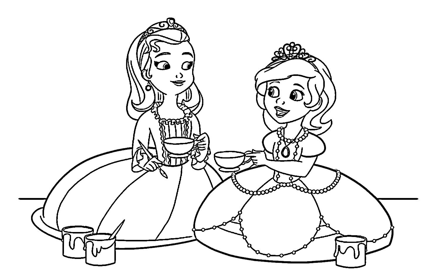 La Princesa Sofia Canciones Y Dibujos Animados Vídeos Infantiles