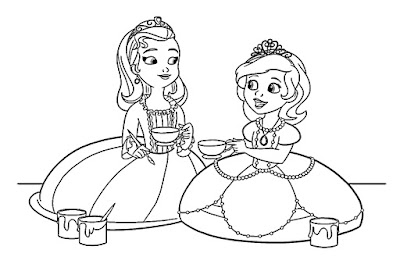 Princesa Sofia y Amber