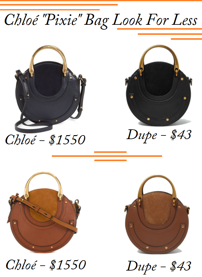 Meghan Markle Look For Less, Chloé Bag Dupes, Chloé Pixie Bag Lookalike, Chloé Pixie For Less, Chloé Pixie Dupe, Chloe Bags On a Budget