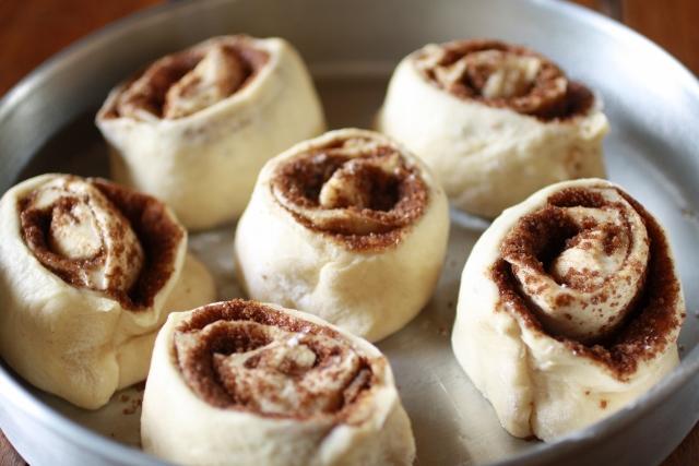 Rollos de canela / Cinnamon rolls