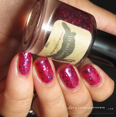 nail polish swatch of Queen of Everything by Leesha's Lacquer