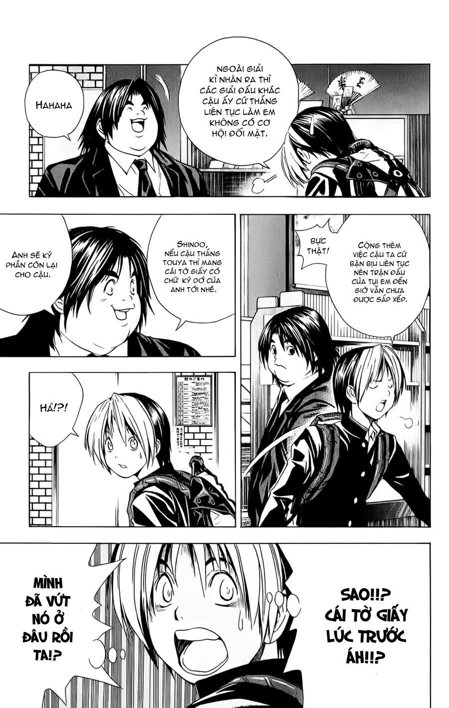 Hikaru No Go hikaru no go chap 144 trang 4