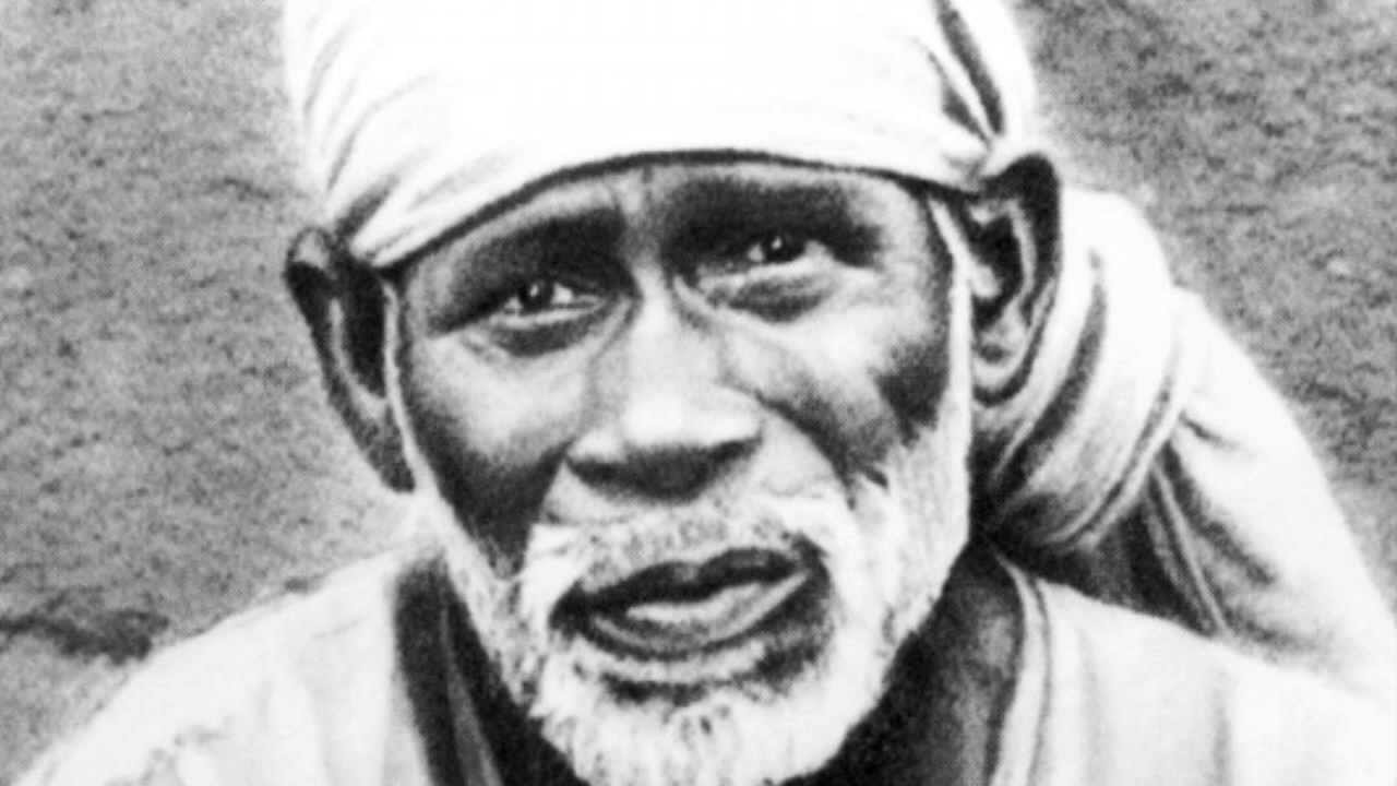 sai baba original photo