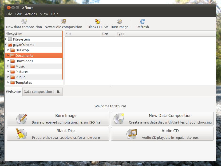How to Install Xfburn (CD/DVD burner) in Ubuntu 11 04 Natty