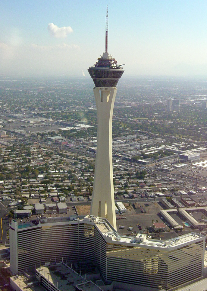 Stratosphere Tower Höhe