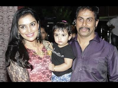 Shweta Menon family