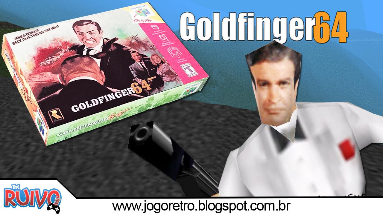 JOGO GOLDENEYE NINTENDO 007 64 BAIXAR