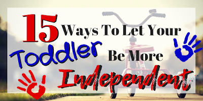Try these 10+ tips to encourage your toddler to be more independent! #Toddler #Parenting #TheMomBlogWI #Blogging #MomLife #MindfulParenting #Independence #Encouragement