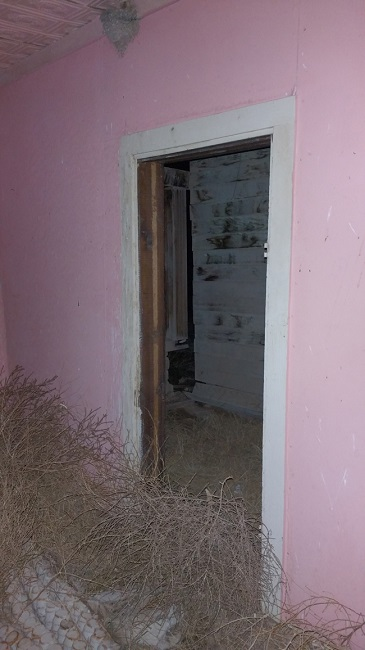Abandoned building in Tyrone, Colorado Ghost town