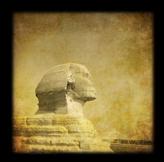 Sphinx of Giza side view