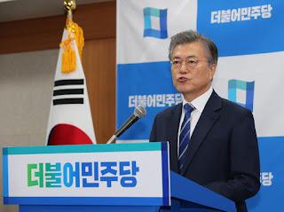Ο πρόεδρος της Νότιας Κορέας Μουν Τζε-ιν