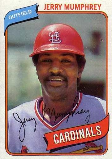 1980 Topps Baseball 378 Jerry Mumphrey