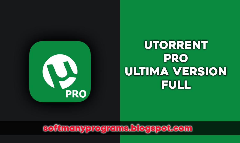 descargar utorrent pro full gratis