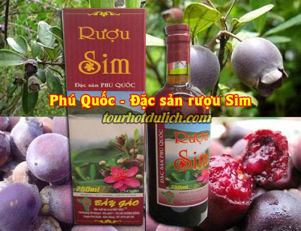 rượu vang làm từ trái sim rừng Phú Quốc