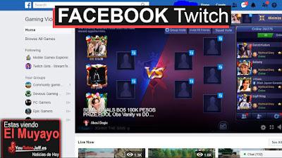 Facebook gaming, mejor dicho fb.gg es el nuevo twitch de la red social facebook.
