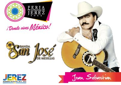 joan sebastian Feria Jerez 2014