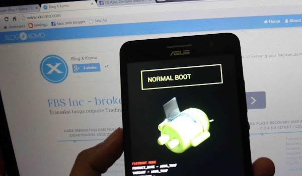 Tutorial Cara masuk ke droidboot atau fastboot di zenfone dengan os android 5 lollipop