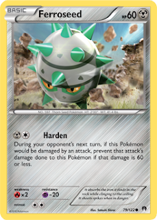 Ferroseed BREAKpoint Pokemon Card
