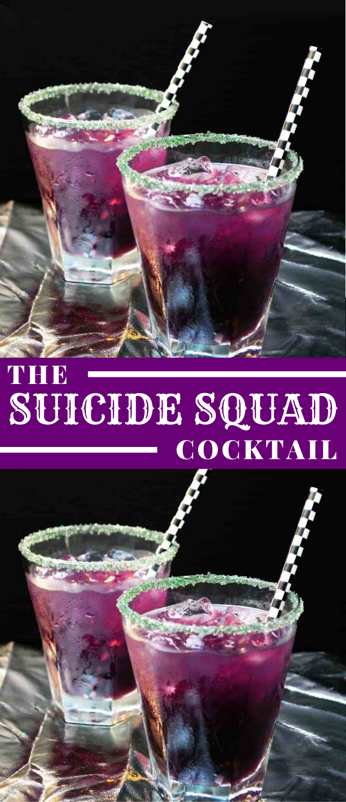 COCKTAIL – THE SUICIDE SQUAD #mixdrink #drinks