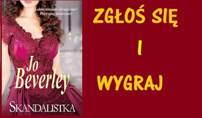 "KONKURS Z KSIĄŻKĄ JO BEVERLY ""SKANDALISTKA"""