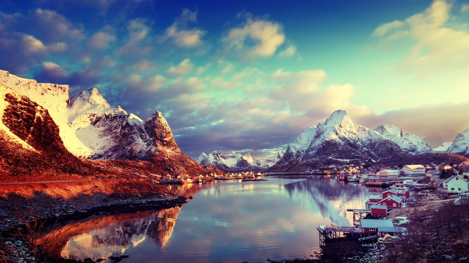 Lofoten Norway 1920 x 1080