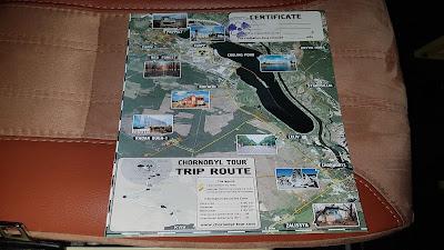 diploma di Chernobyl Tour