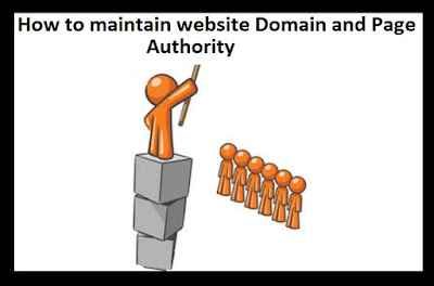 How to maintain website DA/PA