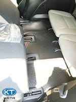 Thảm lót sàn ô tô Hyundai Santafe 2019