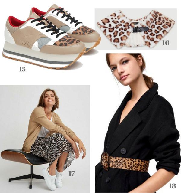 zara maje ese o ese ropa y zapatos de nueva temporada estampadado animal print style tendencia sneakers