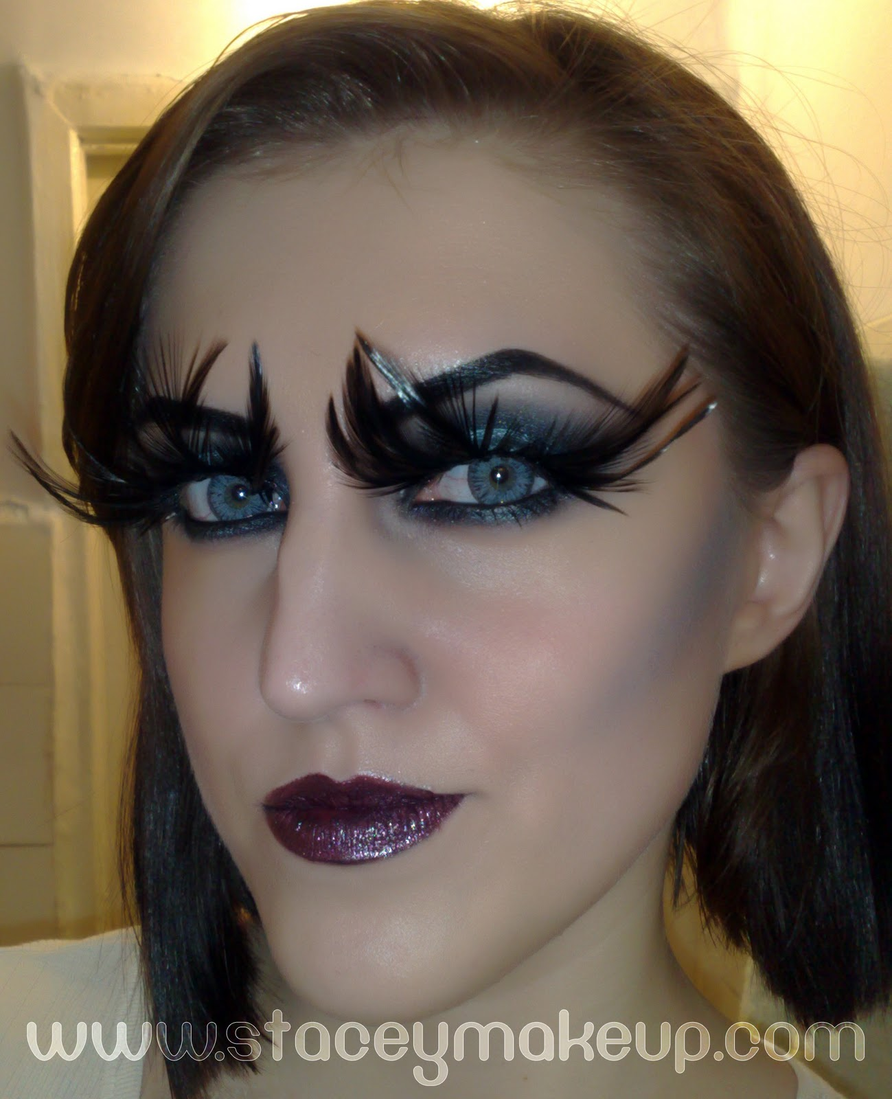 Angelic makeup