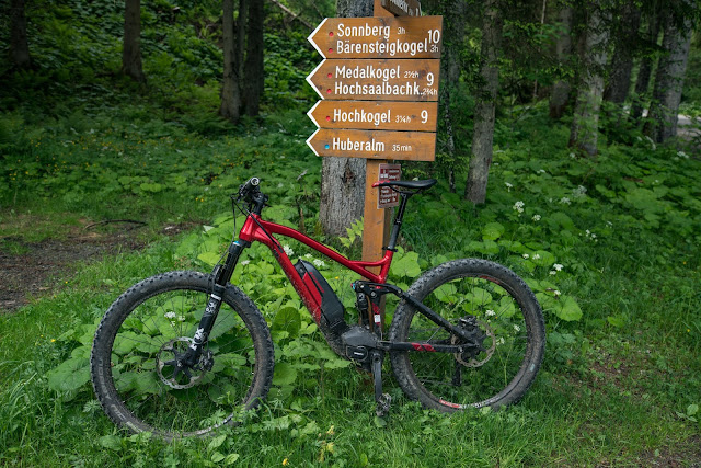 E-Bike and Hike  Hochsaalbachkogel  Saalbach-Hinterglemm 03