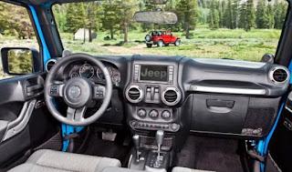2018 Jeep Wrangler Diesel JL Interior