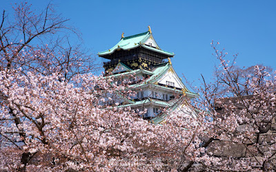 Osaka Castle (tempat wisata favorit osaka)