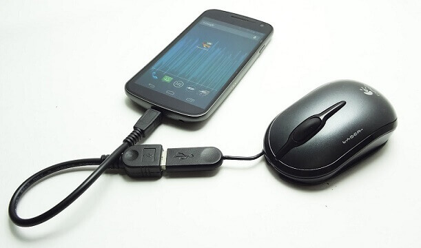 Connecting USB Enabled Mouse with Android Device