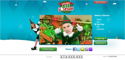 ElfYourself 2012 Hip Hop elf