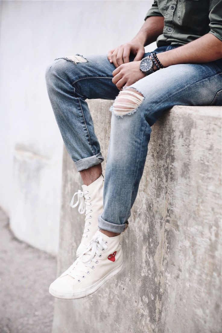 Converse High Tops Sneakers: Nailing Lace Up Style