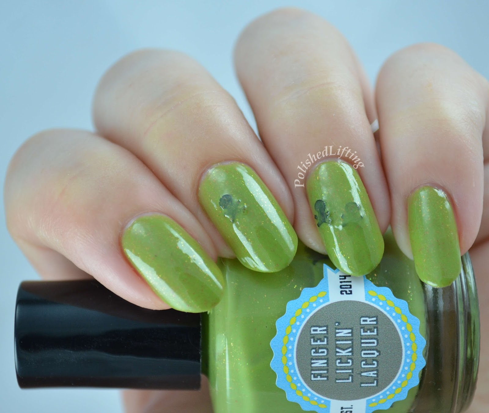 Finger Lickin' Lacquer Poison Apple