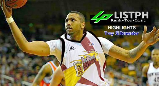 Video Playlist: Troy Gillenwater San Miguel Beermen import 2018 Commissioner's Cup highlights