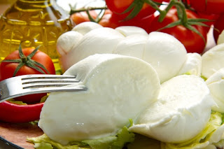 Fresh Italian buffalo mozzarella