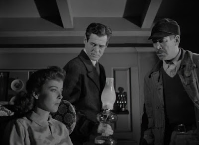 Ida Lupino, Robert Ryan, Ward Bond - On Dangerous Ground (1951)