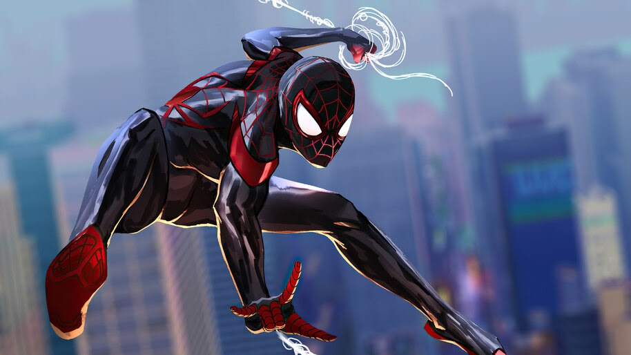 Miles Morales, Spider-Man, Into, The, Spider, Versse, 4K, #3.2299