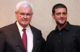 Peter Egan Newt Gingrich - http://peteregan.blogspot.com/