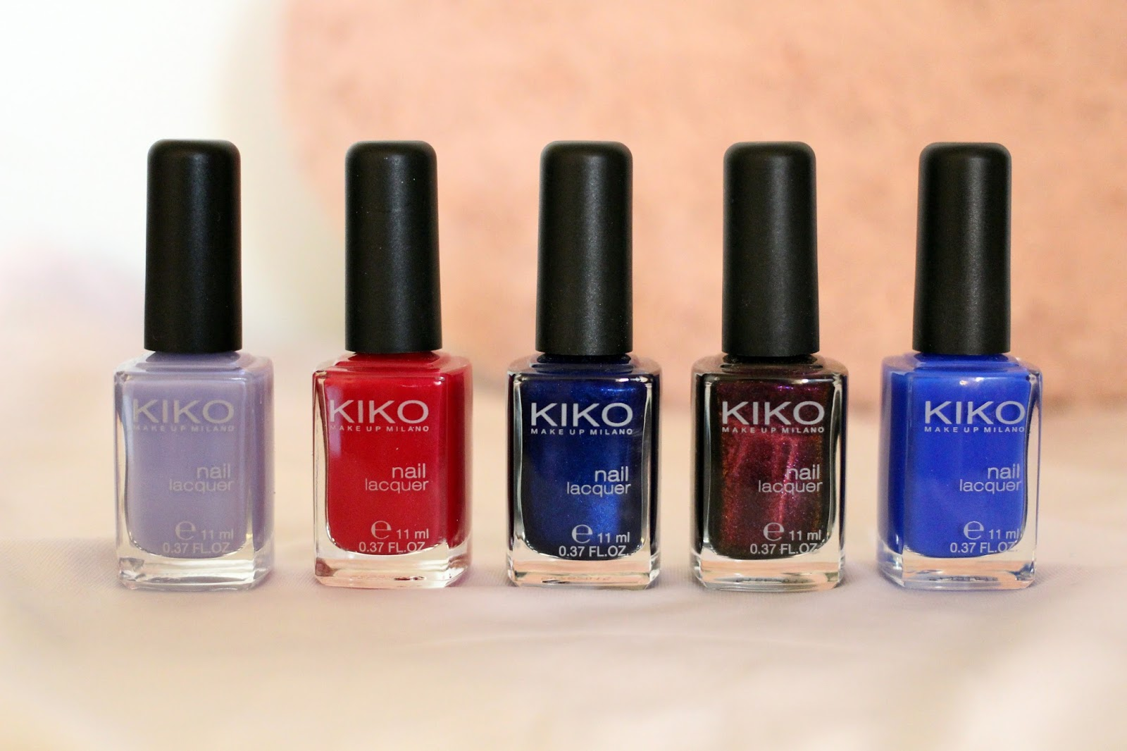 Top 5 Kiko Nail Polishes Beauty And The Bird