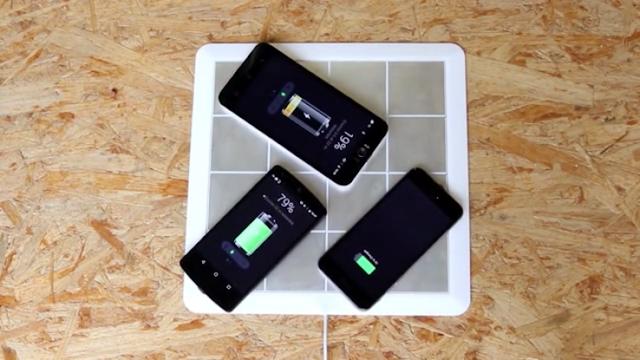 Energy Square, Si Papan Kecil Untuk Mengecas Batre Smartphone Lebih Dari Satu Device