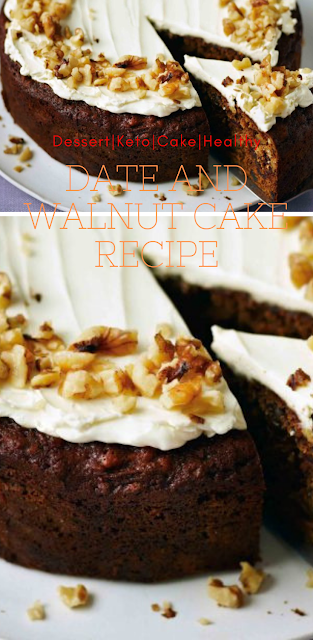 Date and walnut cake recipe