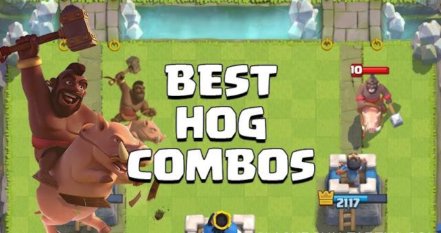 Combo Hog Rider Terbaik Terkuat Clash Royale, Kumpulan Combo Hog Rider Terbaik, Combo Hog Rider Terbaik Terkuat Clash Royale.